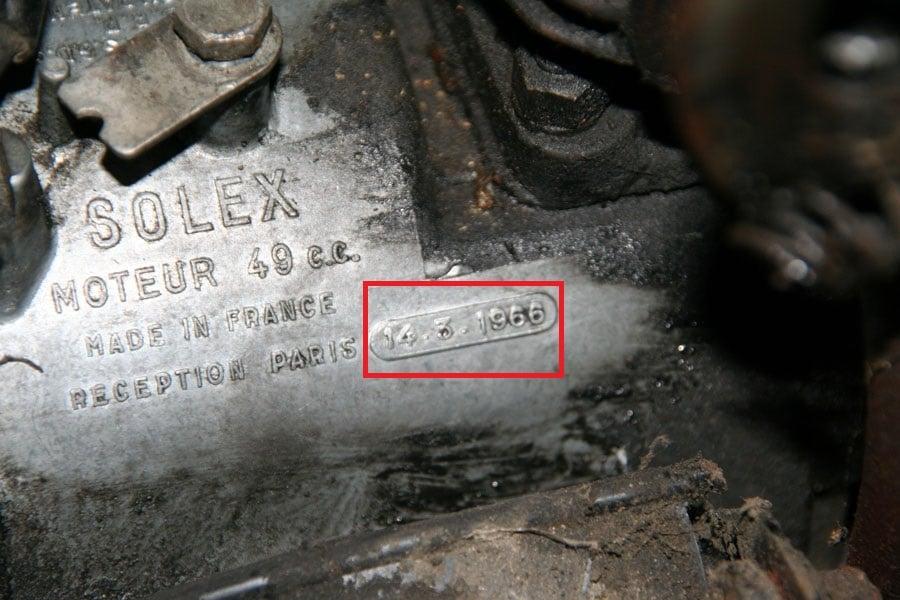 SOLEX 49CC année de production